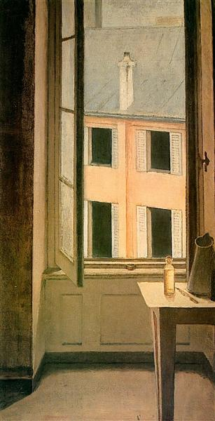 Window, Cour de Rohan, 1951 - Balthus