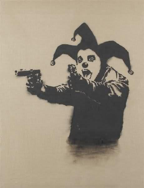 Insane Clown, 2001 - Banksy