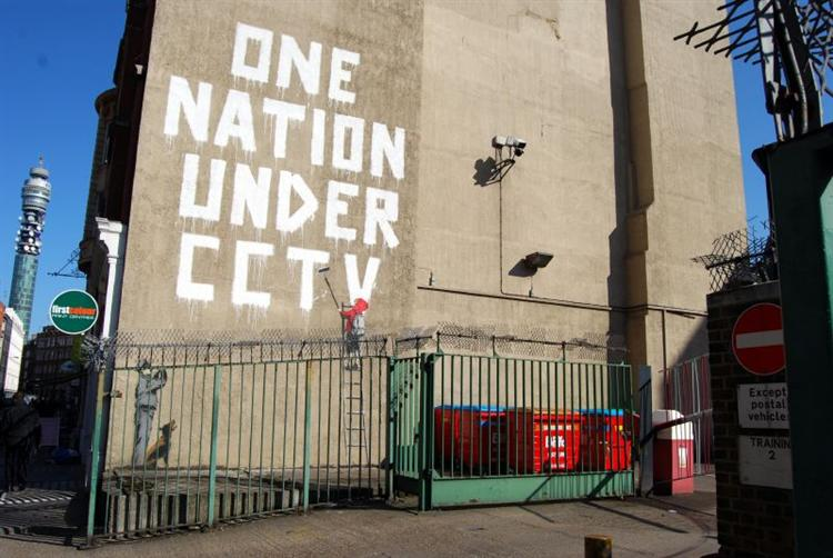 One nation under CCTV - Banksy