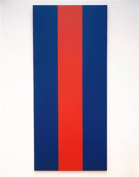 Voice of Fire, 1967 - Barnett Newman