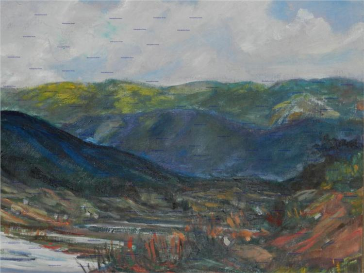 Yallahs River #2 - Barrington Watson