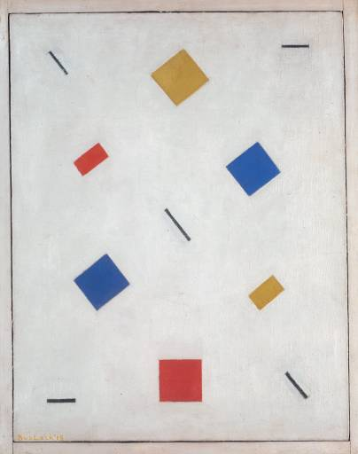 Composition, 1918 - Барт ван дер Лек
