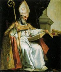 St. Isidore of Seville - Bartolomé Esteban Murillo