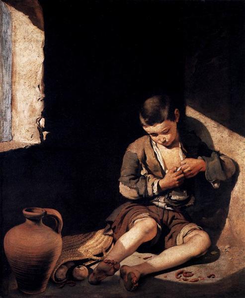 The Young Beggar, c.1650 - Bartolome Esteban Murillo