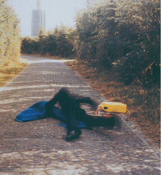 Pitfall on the way to a new Neo-Plasticism, Weskapelle, Holland, 1971 - Bas Jan Ader