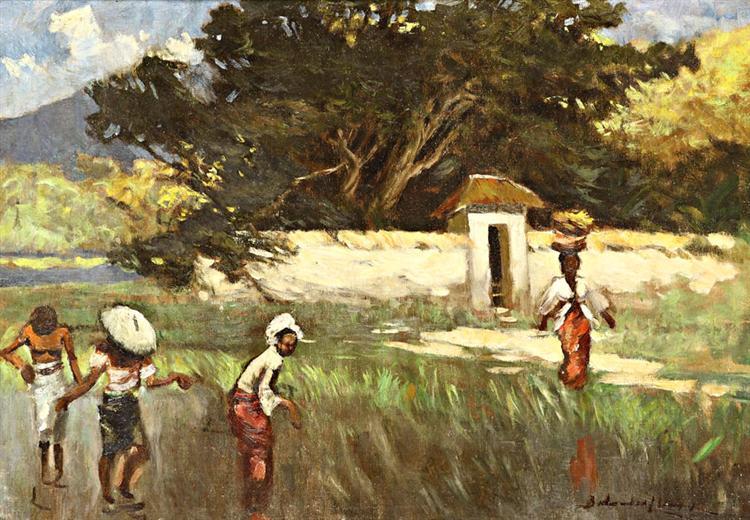 In the Rice Field - Басукі Абдуллах