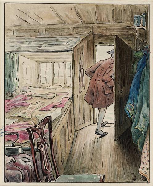 The Tailor Leaving his Workshop, 1902 - Beatrix Potter