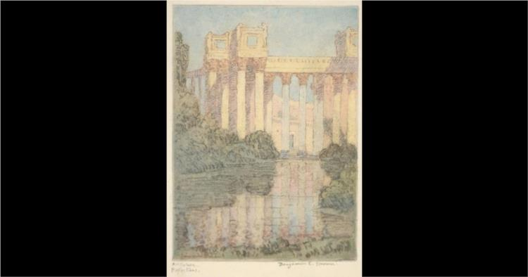 Art Palace, Reflections, 1915 - Бенджамін Браун