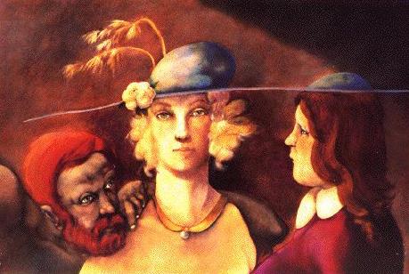 Chronos and Oedipus - Benjamin Canas
