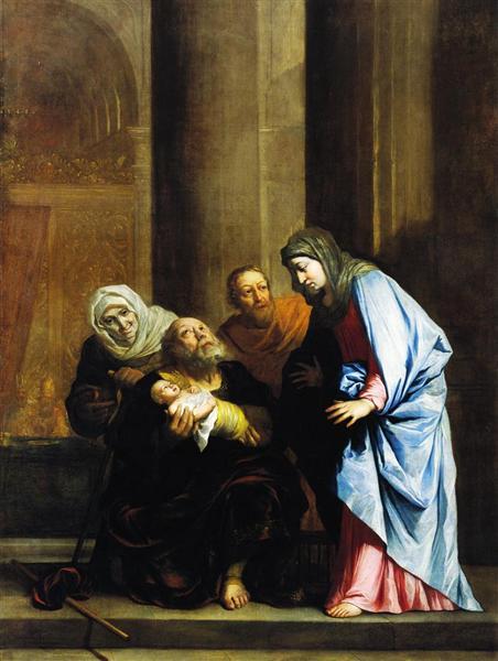 Simeon with the Infant Jesus, c.1796 - Benjamin West