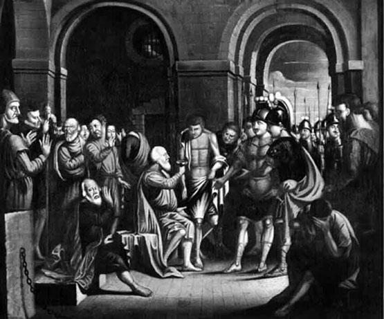 Ο Θάνατος του Σωκράτη, 1756 - Benjamin West