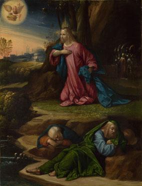 La agonía en el jardín - Benvenuto Tisi