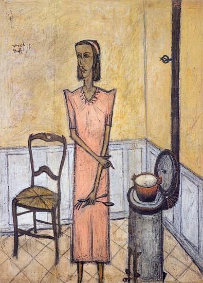 Femme au poêle, 1947 - Bernard Buffet
