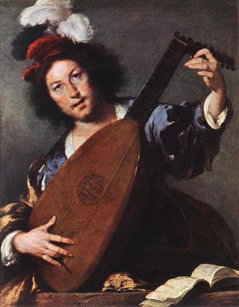 Lute Player, 1630 - 1635 - Bernardo Strozzi