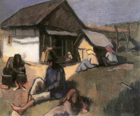 Gypsies, 1907 - Bertalan Pór