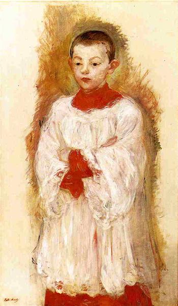 Choir Boy, 1894 - Berthe Morisot
