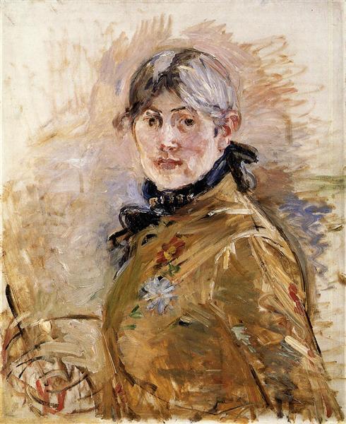 Self-Portrait, 1885 - Berthe Morisot