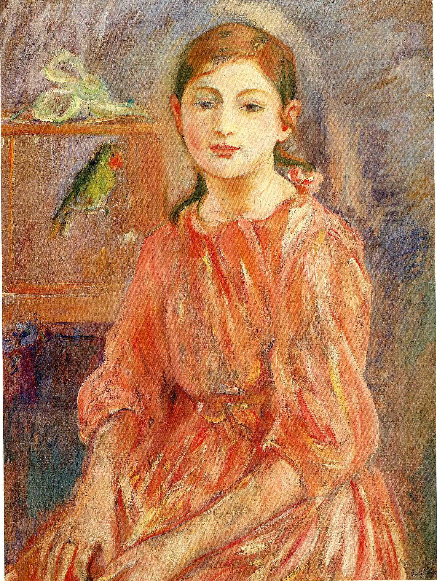 an introduction to the life of berthe morisot The cradle (1872-3) by berthe morisot musee d'orsay, paris berthe morisot (1841-95) contents • biography • early life and training • at the french salon • meets manet.