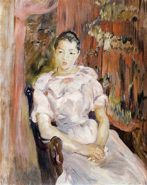 Young Girl Resting, 1894 - Berthe Morisot
