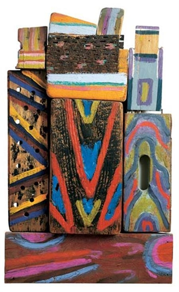 Totem Materia-R, 1980 - Betty Parsons