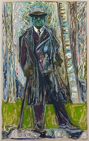 Sibelius (Man with Stick), 2011 - Billy Childish