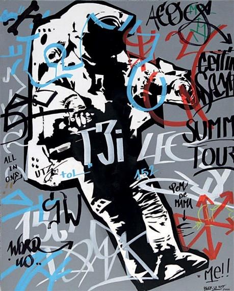 Spaceman, 2006 - Blek le Rat