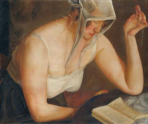 Woman Reading, 1912 - Boris Grigoriev
