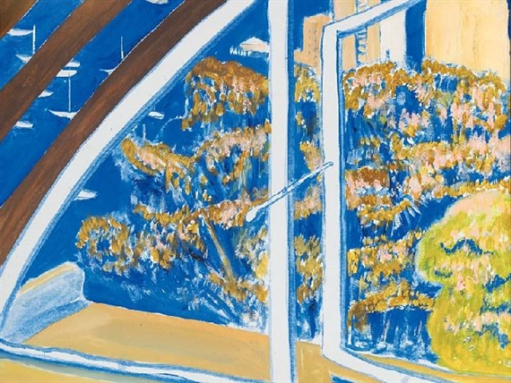 The Window, Lavender Bay, 1980 - Brett Whiteley