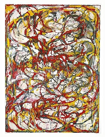 Dragons - Brice Marden