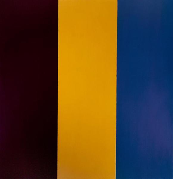 Red Yellow Blue, 1974 - Brice Marden