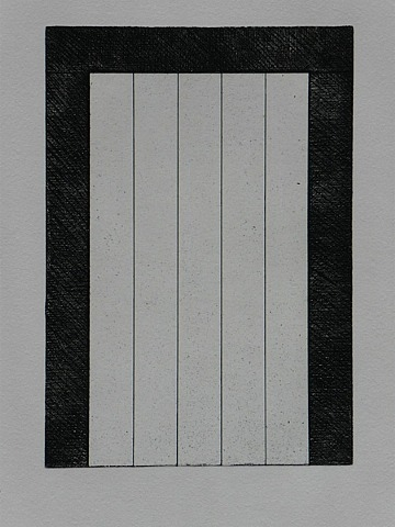 Untitled from (12 Views for Caroline Tatyana), 1979 - Brice Marden