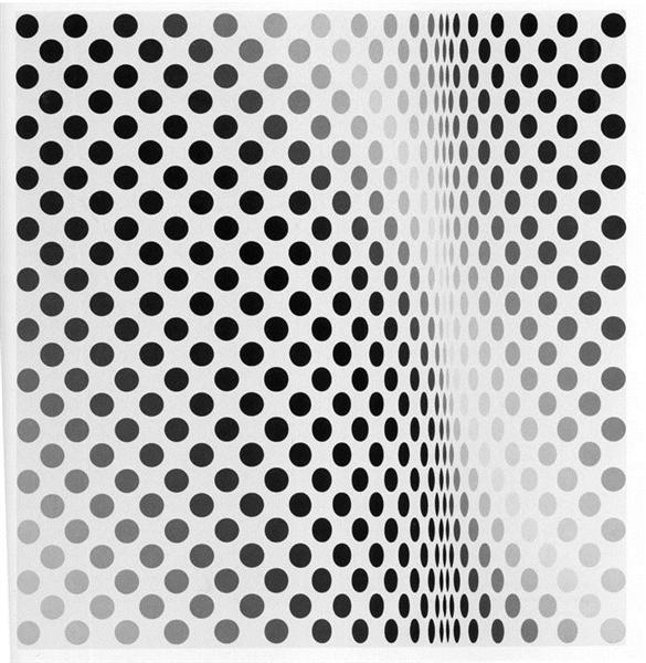 Pause, 1964 - Bridget Riley