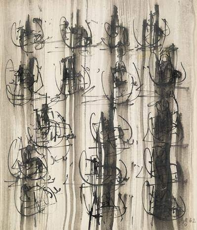 Untitled, 1962 - Brion Gysin