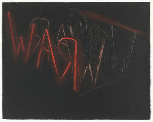 Raw/War, 1971 - Bruce Nauman