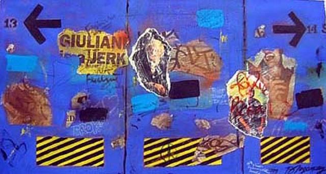 Giuliani Jerk, 1998 - Burhan Dogancay