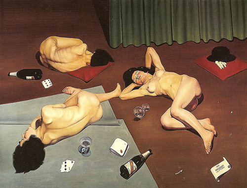 After the Orgy, 1928 - Cagnaccio di San Pietro