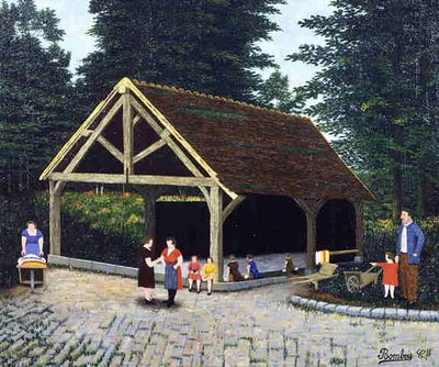 L'Abri des Lavandières, 1930 - Camille Bombois