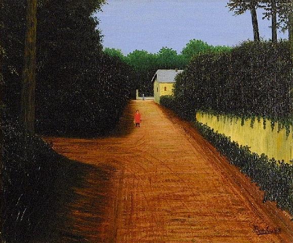 Yellow Street, 1925 - Camille Bombois