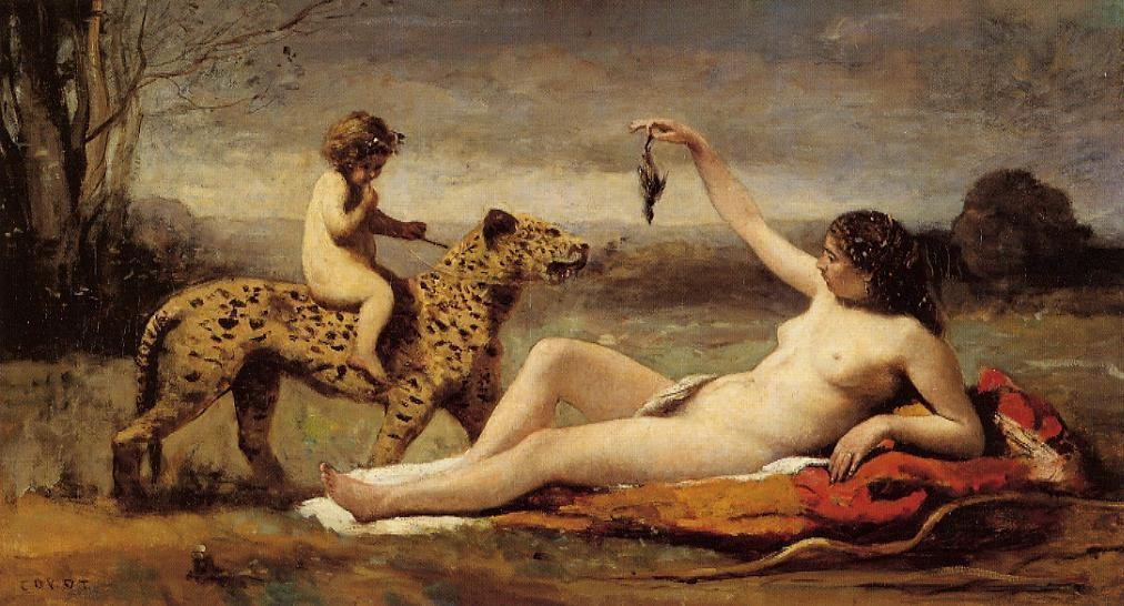http://uploads4.wikipaintings.org/images/camille-corot/bacchante-with-a-panther-1860.jpg