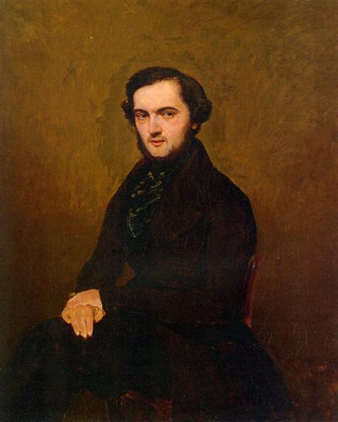 Portrait of a Gentleman, 1829 - Camille Corot