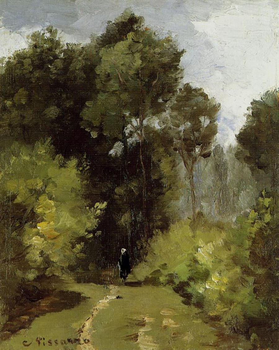 In the Woods, 1864