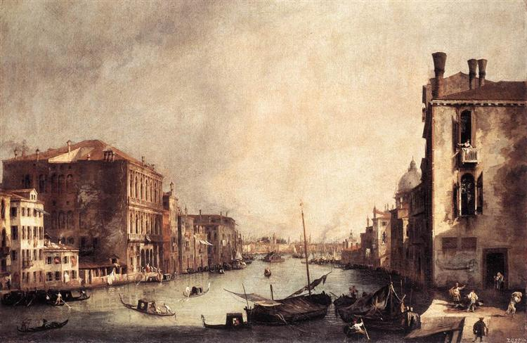 Rio dei Mendicanti: Looking South, c.1725 - Canaletto