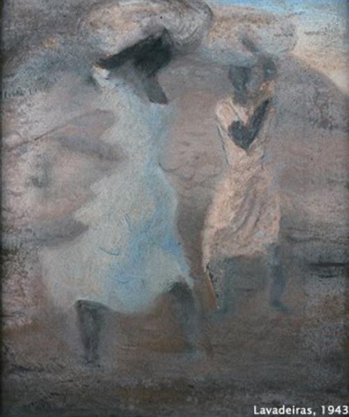 Lavadeiras, 1943 - Candido Portinari