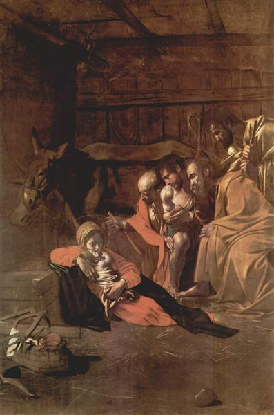 Adoration of the Shepherds, 1609 - Caravaggio