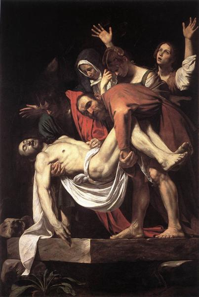 Santo Entierro, c.1603 - Caravaggio