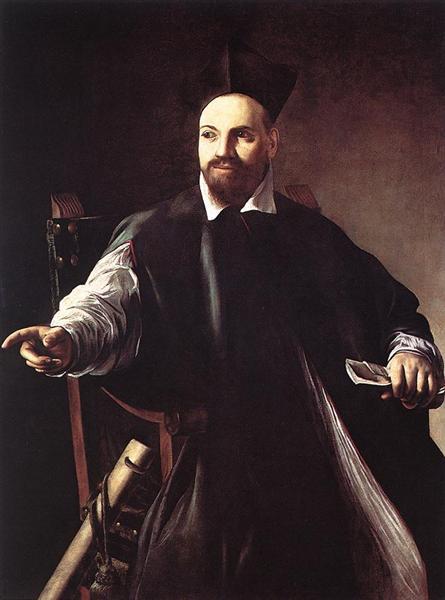 Portrait of Maffeo Barberini, c.1598 - Caravaggio