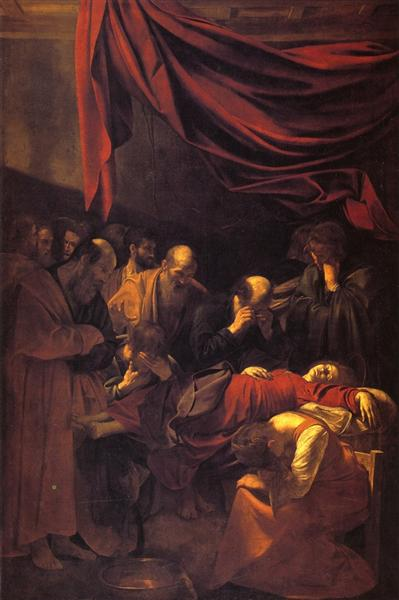 The Death of the Virgin, 1601 - 1603 - Caravaggio