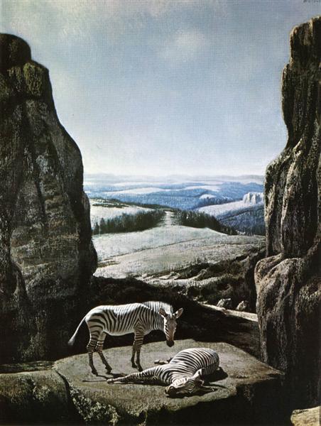 Sleeping Zebra, 1959 - Карел Вілінк