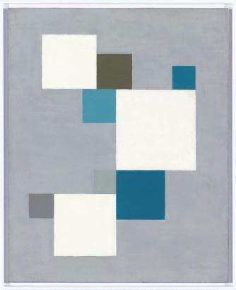 Composition with a Blue Square, 1926