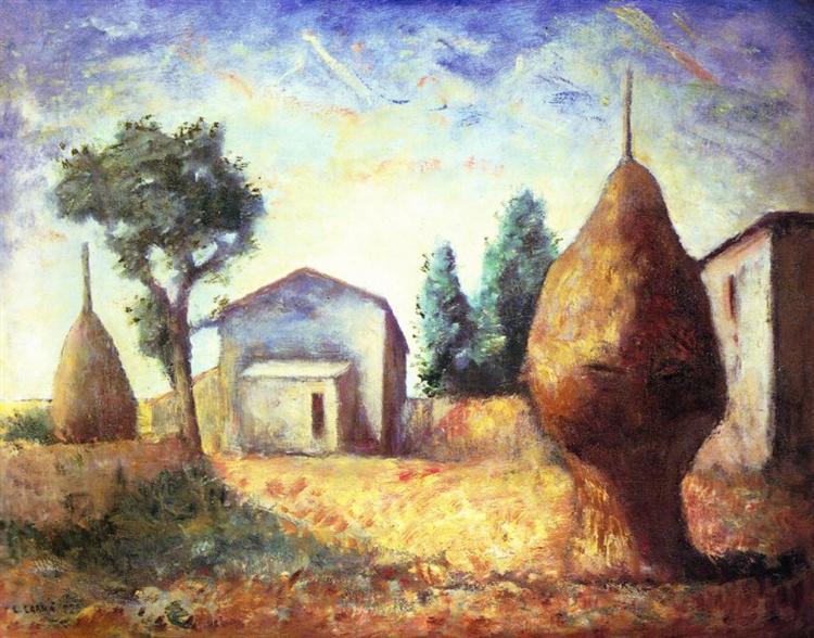 Pagliai, 1929 - Carlo Carra